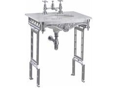 Lavabo a consolle rotondo in marmo di CarraraGEORGIAN   Lavabo - BATHROOM BRANDS GROUP