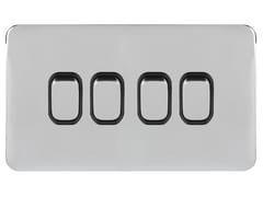 Serie civile in acciaio inoxGGBL1042BPC - SCHNEIDER ELECTRIC INDUSTRIES