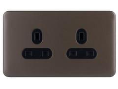 Presa elettrica multipla in acciaio inoxGGBL3060BMBS - SCHNEIDER ELECTRIC INDUSTRIES