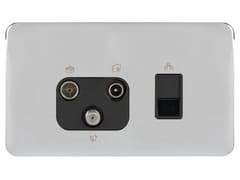 Presa elettrica in acciaio inoxGGBL7081456BPCS - SCHNEIDER ELECTRIC INDUSTRIES