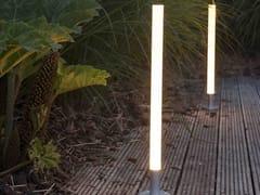 PALETTO LUMINOSO A LED IN PMMAGHOST SABER - FERROLIGHT DESIGN