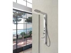Colonna doccia a parete con doccettaGIADA - WEISS-STERN