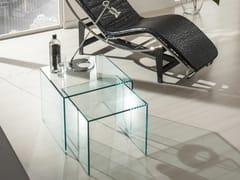 Tavolino in vetro da salottoGINEBRA - IDEAS GROUP