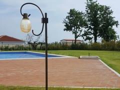 Lampada da terra per esterno a LED in acciaioGINESTRE | Lampada da terra per esterno - BRILLAMENTI BY HI PROJECT