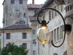 Applique per esterno a LED in vetro soffiatoGINESTRE | Applique per esterno - BRILLAMENTI BY HI PROJECT