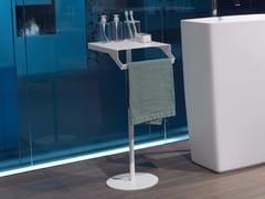 Antonio Lupi Design, GINO Porta asciugamani da terra in acciaio inox