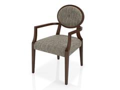 Sedia in tessuto con braccioli GIOCONDA | Sedia - Gioconda