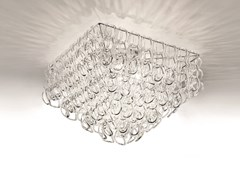 Lampada da soffitto in cristallo GIOGALI PL 65Q - Giogali
