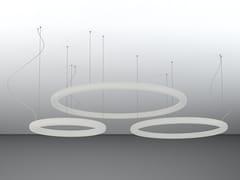 Lampada a sospensione a LED in polietileneGIOTTO - SLIDE