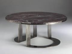 Tavolino basso in marmoGIOTTO - PASUT DESIGN