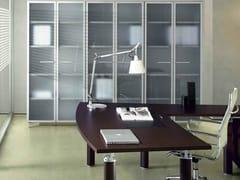 Mobile ufficio alto con ante a battente GIOVE G609 - Giove