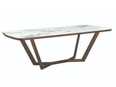 Tavolo rettangolare in ceramicaGIULI   Tavolo in ceramica - OLIVER B.