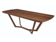 Tavolo rettangolare in legno masselloGIULI   Tavolo - OLIVER B.