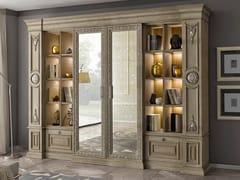 Libreria a parete in legno con illuminazioneGIULIO | Libreria - ARVESTYLE