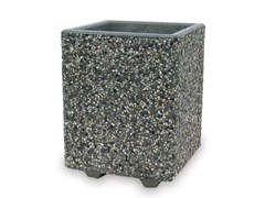 Fioriera realizzata in conglomerato di marmo e cementoGIZA - BONFANTE