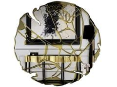 Specchio rotondo da pareteGLANCE - BOCA DO LOBO
