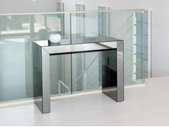 Consolle allungabile rettangolare in cristallo GLASS | Consolle in cristallo -