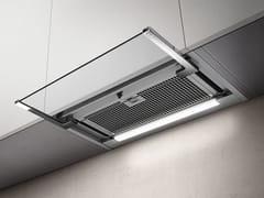 Cappa in acciaio inox ad incasso con illuminazione integrataGLASS OUT - ELICA