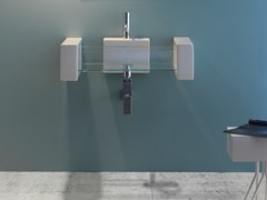 Lavabo sospeso in vetro GLASS | Lavabo sospeso - Glass