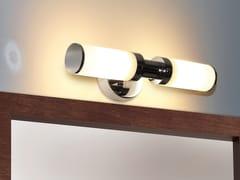 Top Light, GLASSLIGHT WALL Applique orientabile in vetro opale
