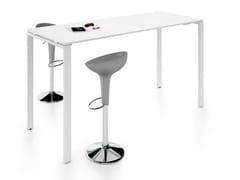 Tavolo da riunione ad altezza regolabile rettangolare in nobilitatoGLIDER | Tavolo da riunione ad altezza regolabile - BRALCO