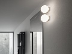 Cerasa, GLOBO Lampada da parete a LED in vetro
