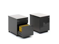 Cassettiera ufficio con ruote GLOSS | Cassettiera ufficio - Gloss