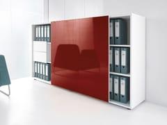 Mobile ufficio con ante scorrevoli GLOSS | Mobile ufficio - Gloss