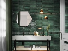 Rivestimento in ceramica bicotturaGLOW | Verde - ARMONIE CERAMICHE