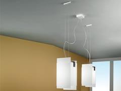 Lampada a sospensione a LED in vetroGLUÈD _PQ - LINEA LIGHT GROUP