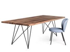 Tavolo da pranzo rettangolare in legno masselloGN01 STILT - CHRISTIAN SEISENBERGER