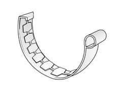 Giunto semplice per canale di gronda in PVCGNE125B - FIRST CORPORATION