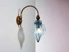 Lampada da parete in vetro di Murano GOCCIA MB 111 - Goccia