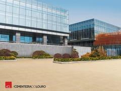 Pavimento per esterni in calcestruzzoGODO E PEDRA LAVADA - A CIMENTEIRA DO LOURO