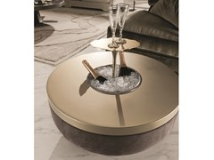 Tavolino rotondo con portaghiaccio GODWIN BAR - Loveluxe - Regency