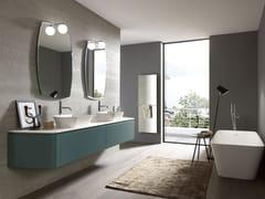 Mobile lavabo doppio laccato in legnoGOLA 02 - ARCHEDA