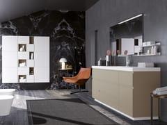 Mobile lavabo in legno con cassetti con specchioGOLA 05 - ARCHEDA