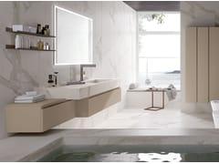 Mobile lavabo laccato in legno con specchioGOLA 08 - ARCHEDA