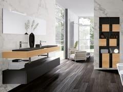 Mobile lavabo doppio laccato in legnoGOLA 10 - ARCHEDA