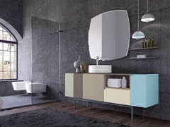 Mobile lavabo laccato in legnoGOLA 11 - ARCHEDA