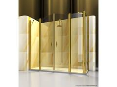 Box doccia angolare su misura in vetro GOLD A4+FD - Gold