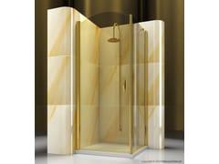 Box doccia angolare su misura in vetro temperato GOLD AP+FP - Gold