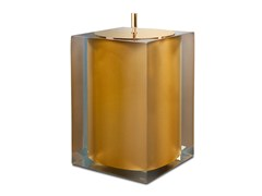 Pattumiera in resina GOLD GLOSS | Pattumiera - GOLD GLOSS