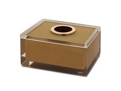 Porta fazzoletti in resinaGOLD GLOSS | Porta fazzoletti - VALLVÉ USA AND EXPORT