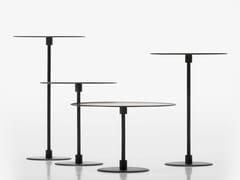 Tavolino rotondo in metalloGONG - ACERBIS BY MDF ITALIA