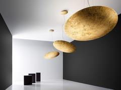 Lampada a sospensione a LED a luce indirettaGONG - PANZERI