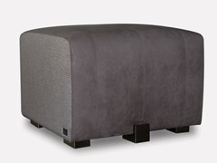 Pouf imbottito quadrato in pelle GONNA | Pouf - MORADA - HAUTE FURNITURE BOUTIQUE