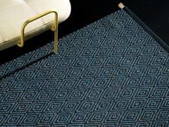 Tappeto in lana a motivi geometrici GOOSE EYE XL ICON -