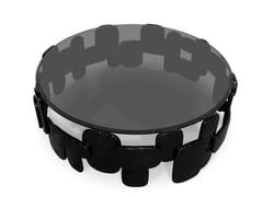 Tavolino da caffè rotondo in legnoGORAKA   Tavolino da caffè - BRABBU DESIGN FORCES