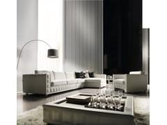 Divano componibile in tessuto con chaise longueGORDON PLUS | Divano componibile - FORMER IN ITALIA